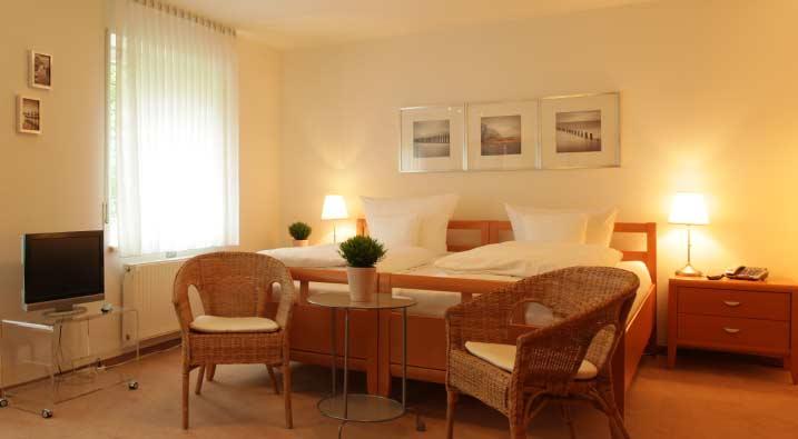 Gästezimmer und Pflegehotel
