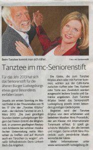 Ludwigsburger Kreiszeitung vom 2. März 2013