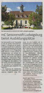 Ludwigsburger Kreiszeitung vom 13. Oktober 2012