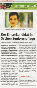 Ludwigsburger Wochenblatt vom 1. März 2012