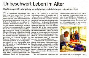 Kornwestheimer Zeitung vom 17. Januar 2015