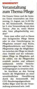 Ludwigsburger Kreiszeitung vom 12. August 2013